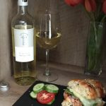 April 23, 2017 – Pelee Island Winery 2012 Chardonnay with Chicken Parmesan Sliders.