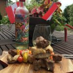 July 1, 2017- Pelee Island Winery 2016 Vidal with Kabobs.